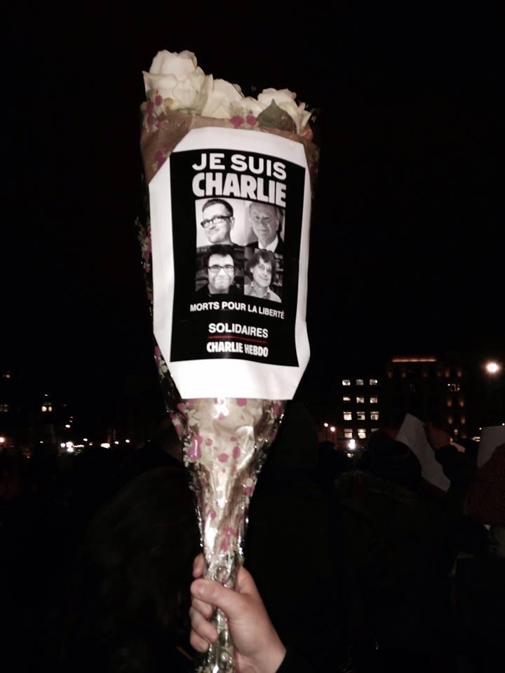 charlie hebdo vigil