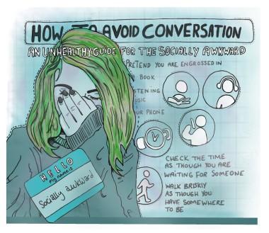 social awkwardness